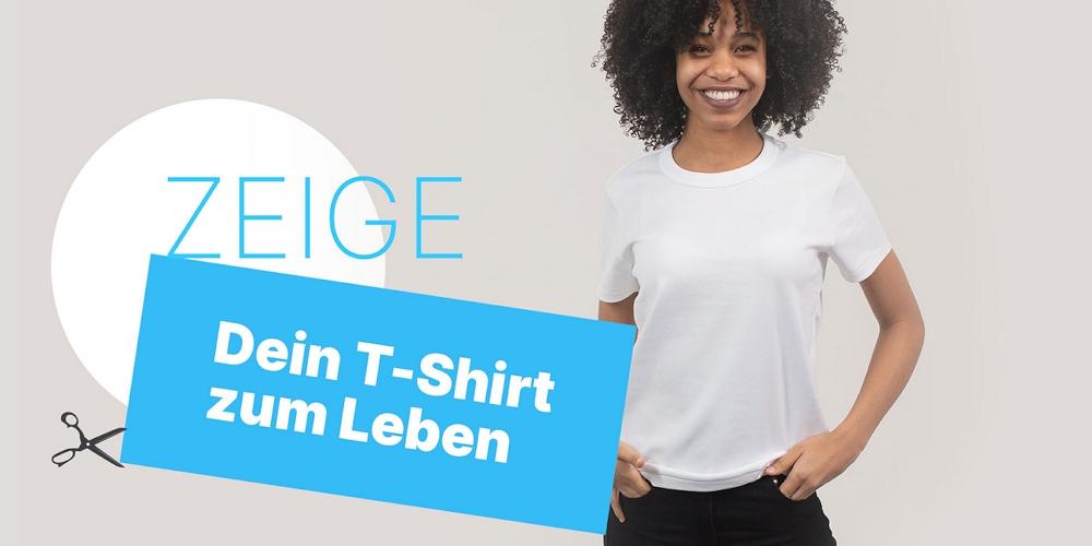 #eintshirtzumleben: Mit einer großen, interaktiven Kampagne schlägt FEMNET eine Brücke zu der unbekannten Näherin