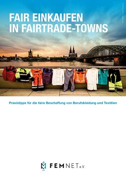 Cover Fair einkaufen - Fair Trade Towns