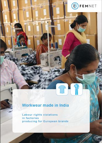 Cover der Studie Workwear made in India