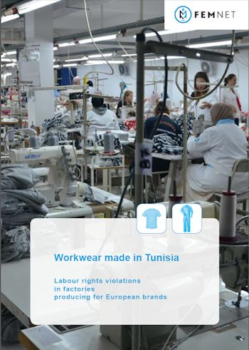 Cover Studie Workwear made in Tunisia