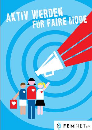 Cover des Faltblattes Aktiv werden