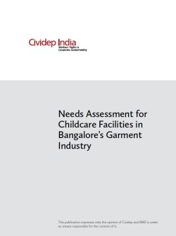 CIVIDEP Needs assesment Bangalore