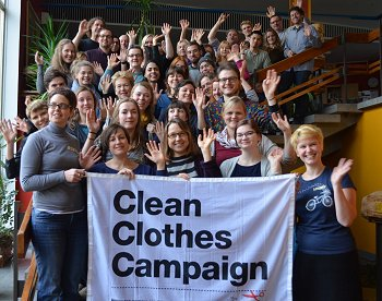 CCC Aktionstreffen 2018. Foto: © Kampagne für saubere Kleidung