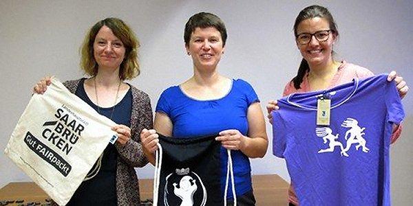 Workshop mit der Fairtrade Town Steuerungsgruppe in Saarbrücken. Foto: © FEMNET