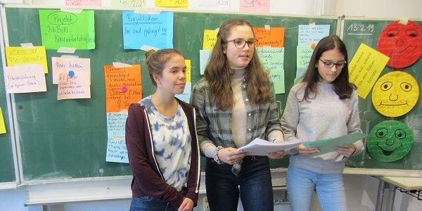 "Erfolgreicher Projektstart für ""Konsumbotschafter_innen"" an Bonner Schule. Foto: © FEMNET"