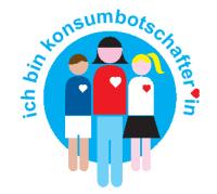 Logo 'Ich bin Konsumbotschafterin'