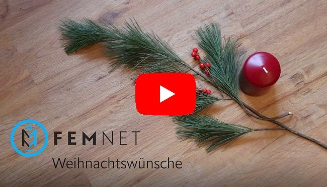 Unsere Mini-Serie zur Adventszeit: Die FEMNET Weihnachtswünsche. © FEMNET