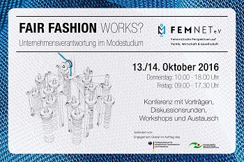 Konferenz FAIR FASHION Works