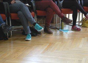 TeilnehmerInnen-Schuhe