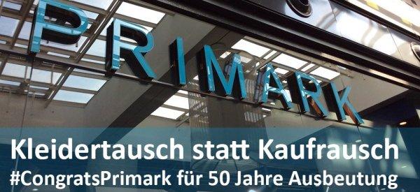 Kölner Aktion geplant zum Primark-Jubiläum. © FEMNET