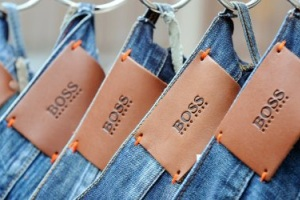 Hugo Boss Jeanslabels