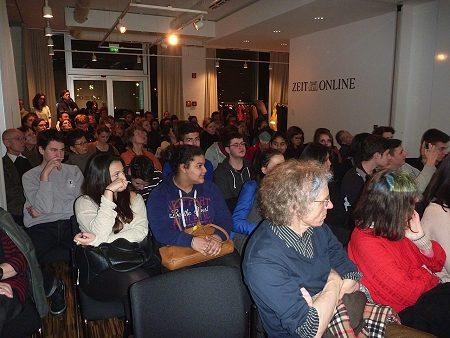 Publikum in Berlin