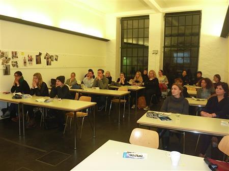 Vortrag vor Studierenden der AMD Berlin