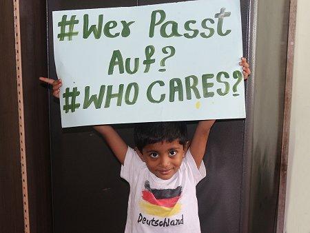 Kampagne #WerPasstAuf. Foto: © CIVIDEP